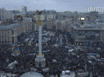 Пряма трансляція з Євромайдану. Верхня точка