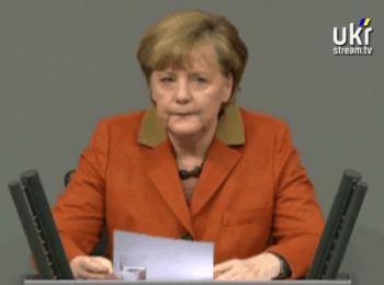 Канцлер Німеччини Ангела Меркель про Україну / Germany Chancellor Angela Merkel on Ukraine
