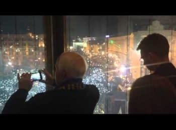Сенатор Маккейн на Євромайдані