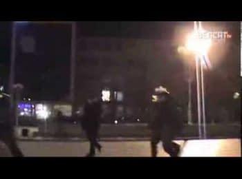 """Атака """"Беркуту"""" у Черкасах (27.01) / """"Berkut's"""" attack in Cherkassy (2014.01.27)"""