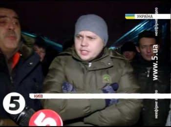Спецпотяг з прихильниками Партії регіонів / Special train for supporting Yanukovich