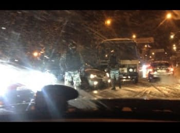 ШОКУЮЧІ КАДРИ! Беркут напав на активістів АвтоМайдану! [23.01] / Shocking video! Special forces Berkut attacked the activists AutoMaydan!