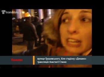 Станко: Мітингувальники штовхають Кличка