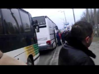"""П'яний """"АнтиМайдан"""" після ухвалення бюджету"""