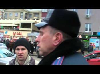 Міліція прикриває провокаторів зі ЗБРОЄЮ?!