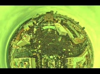 """Відеопанорама з """"Маршу Мільйонів"""" (2 частина)"""