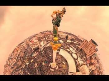"""Відеопанорама з """"Маршу Мільйонів"""" (1 частина)"""