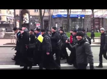 Ченці на Євромайдані