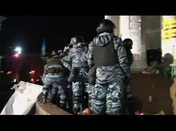 Беркут розігнав Євромайдан (euronews)