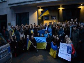 #Євромайдан у Варшаві