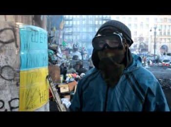Звернення людей до бійців Беркуту та ВВ / Appeal of people to fighters of «Berkut» and internal troops