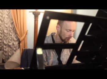 Музикант Віталій Іванов у Жовтневому палаці / The musician Vitaly Ivanov in the October palace