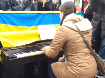 Piano in Kharkov. Music for officials