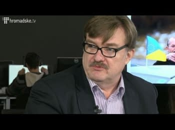 Євген Кисельов на Hromadske.tv / Evgeniy Kiselyov at Hromadske.tv
