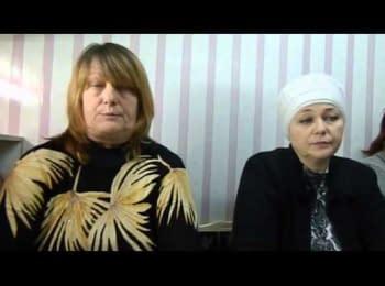 Прідприємці з Тореза Донецької області піднялись проти влади / Employers of Torres Donetsk region have risen against the local government