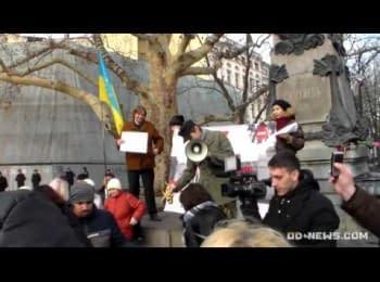 "Одеську міськраду штурмували ""танки"", ""БТРи"" та ""гелікоптери"" Євромайдана / Odessa City Council stormed tanks, armored personnel carriers and helicopters of Euromaydan"