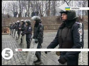 Грушевського знову заблокували / Hrushevskoho again blocked