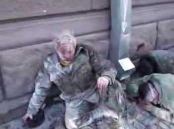 """Наслідки атаки """"Беркуту"""" та ВВ у Маріїнському парку (18.02.2014)"""