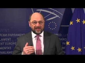 В Украине резкое обострение насилия - заявление Мартина Шульца, президента Европарламента