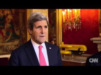 USA Secretary John Kerry called president Viktor Yanukovych to a peaceful resolution of the situation in Ukraine