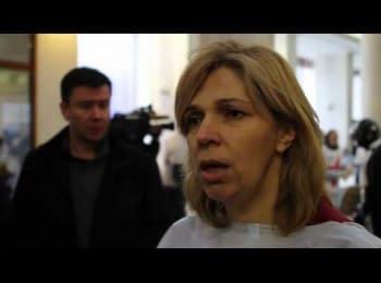 """Лікар Ольга Богомолець: """"У нас 13 загиблих від куль снайперів"""""""