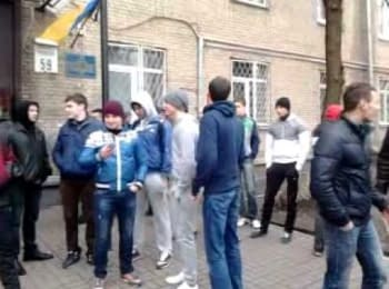Students of Shevchenko university are getting ready for emergency state
