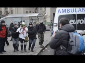 """Berkut"" shoots in medic"