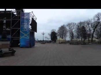 «Тітушки» побили Рульова - журналіста, який прославляв «Беркут»