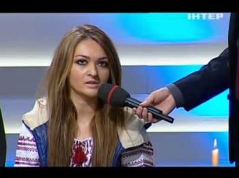 """Журналистка Лидия Панькив в программе """"Касается каждого"""""""