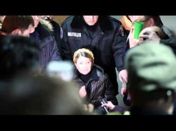 The first Tymoshenko's words after release