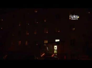 Поляки запалили свічки в пам'ять за загиблими у Києві