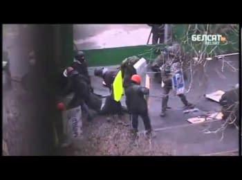 Снайперы на улицах Киева, 20.02.2014 (APTN)
