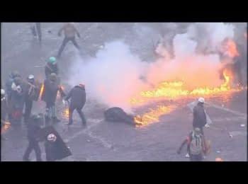 Солдати внутрішніх військ відступили до Євпропейської площі, 20.02.2014