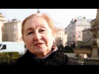 Together we are Ukraine. People of Lviv speak Russian