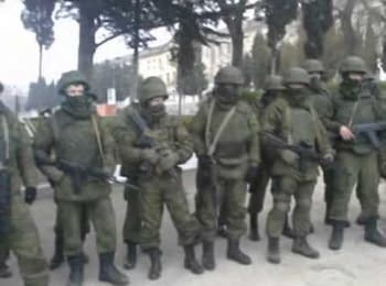 Ukrainian militaries didn't let to take out the weapons from training unit of Ukrainian Navy