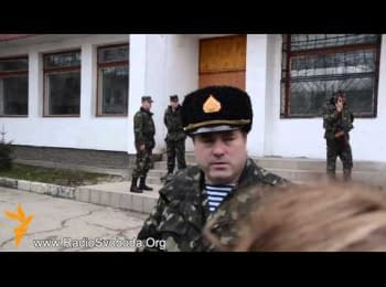 Ukrainian militaries decided to stand till the end in Crimea