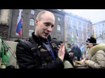 Россияне на Майдане