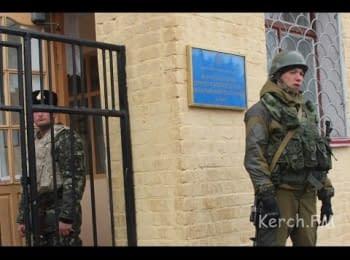 Керченська військова частина оточена Російськими військами