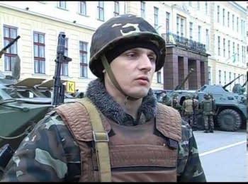 Військовослужбовці АКАДЕМІЇ СУХОПУТНИХ ВІЙСЬК готові виконувати бойові завдання