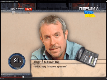 Andrey Makarevich on Russians' attitude towards Crimean events