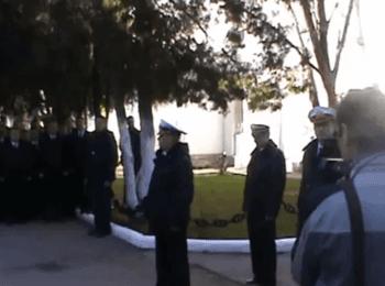 Вірність присязі офіцерів ВМСУ