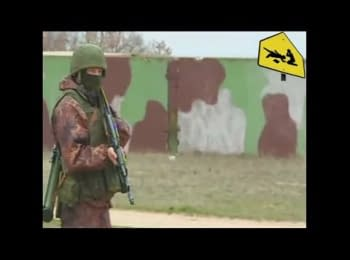 Ukrainian military returnees to «Belbek» met gunfire