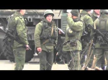 Зачем русским солдатам столько лопат в Крыму?