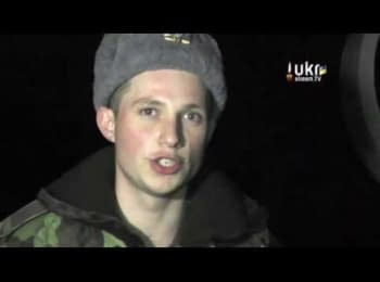 Український солдат в оточеній російськими військами частини