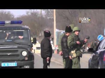 Roadblock at Armiansk