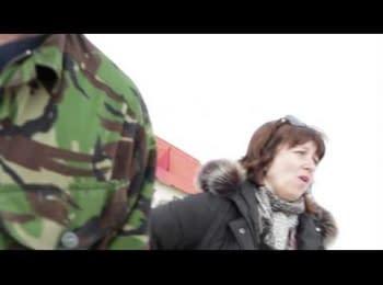 Феодосія, 05.03.2014. Заблокована військова частина