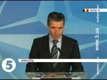 НАТО перегляне співпрацю з Росією через Україну