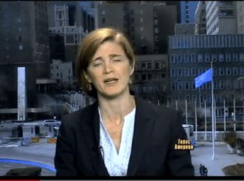 Заяви Росії нічим не підкріплені - посланець США в ООН Саманта Пауер