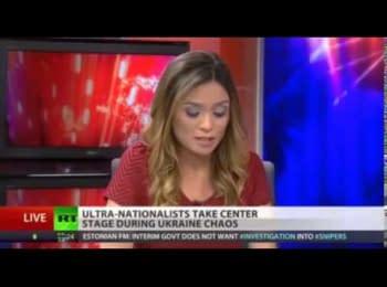 Ведуча російського каналу «Russia Today» звільнилася у прямому ефірі через Україну