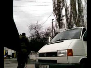 Автоматники напали на українських журналістів в Сімферополі